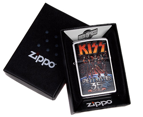 KISS 35th Anniversary Destroyer Zippo