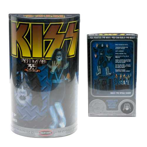 KISS 35th Anniversary Destroyer Spaceman Model Kit