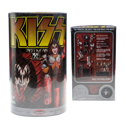 KISS 35th Anniversary Destroyer Demon Model Kit