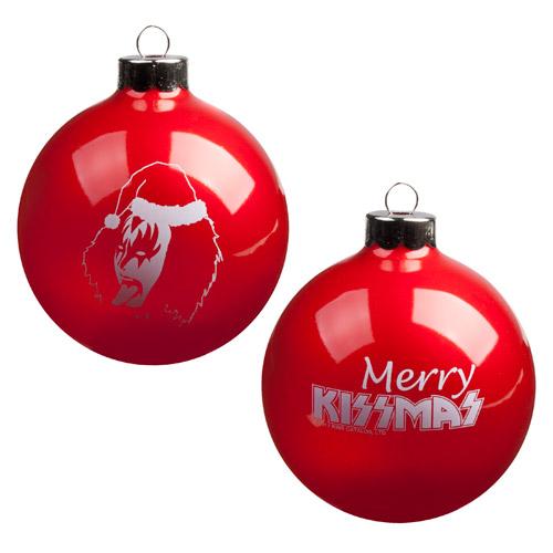 Exclusive - KISS Demon Merry KISSMAS Ornament