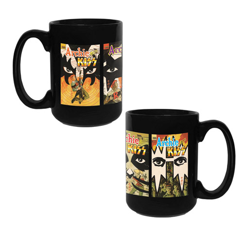 Exclusive - Archie Meets KISS Coffee Mug