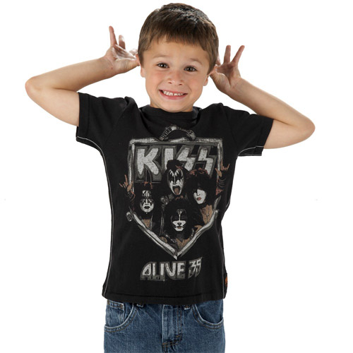 Kiss Alive 35 Kids Tee