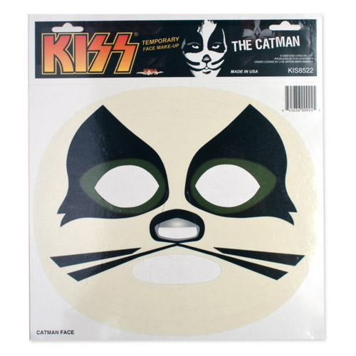 KISS Catman Temporary Makeup