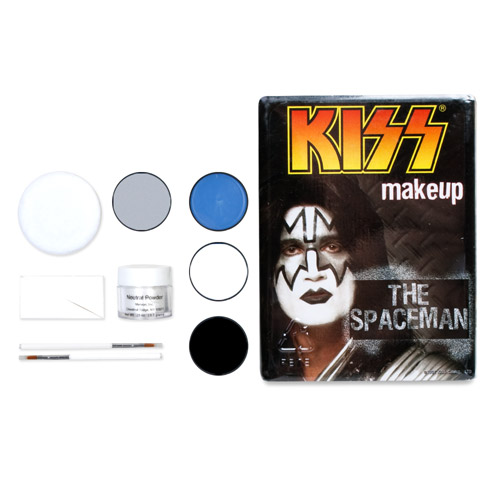 KISS Spaceman Makeup
