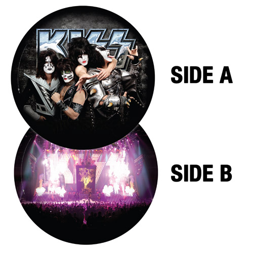 Limited Edition KISS Collectible Picture Disc LP