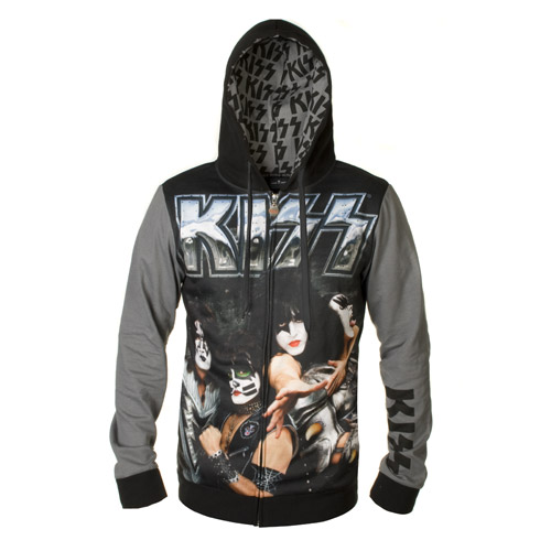 Custom KISS Monster Hoodie
