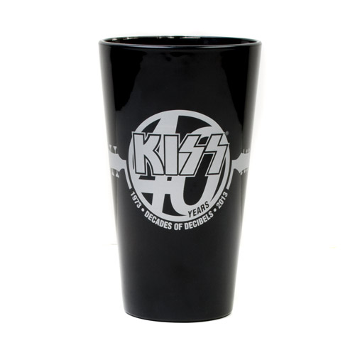 KISS 40th Pint Glass