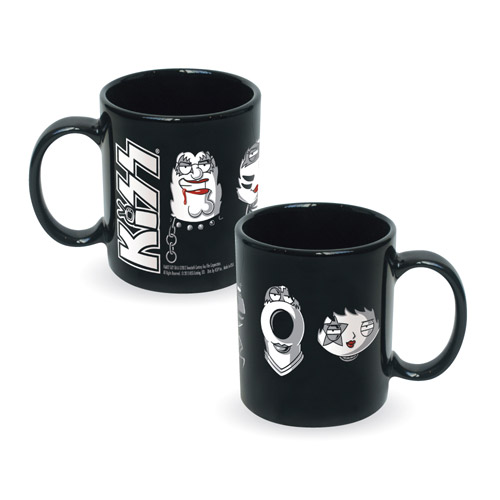 KISS Meets Family Guy Mug