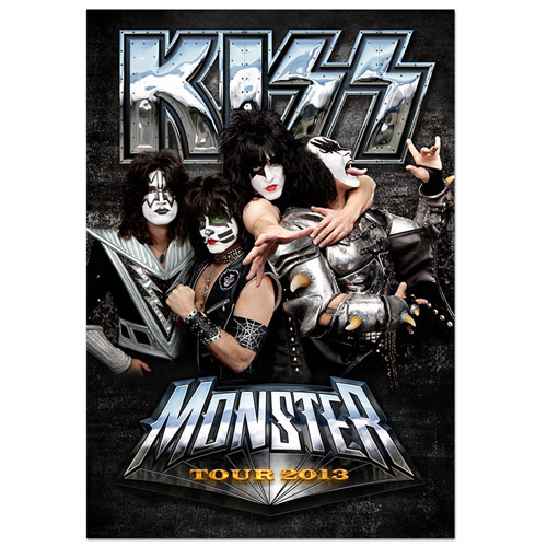Updated 2013 KISS Monster Tour Program