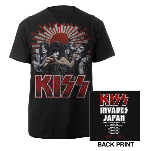 KISS 2013 Japan Monster Tour Tee