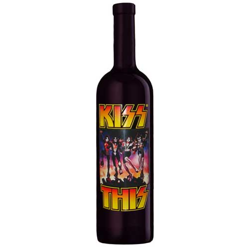 KISS Limited Edition, Collectible Wine by Celebrity Cellars