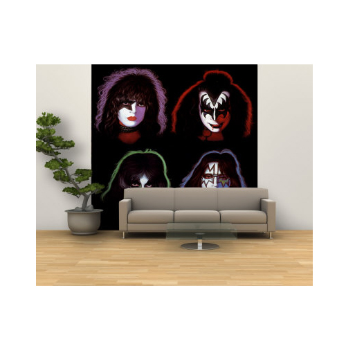 KISS Wall Mural from AllPosters.com