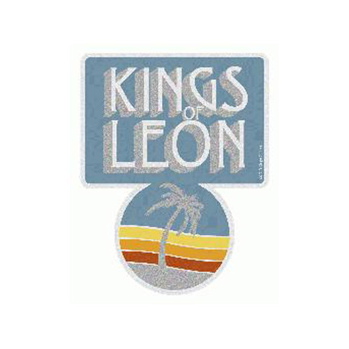 Kings Of Leon Logo Palm Sticker