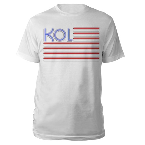 Kings Of Leon Flag Tee