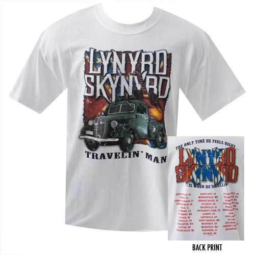 Travelin' Man '07 Tour Tee
