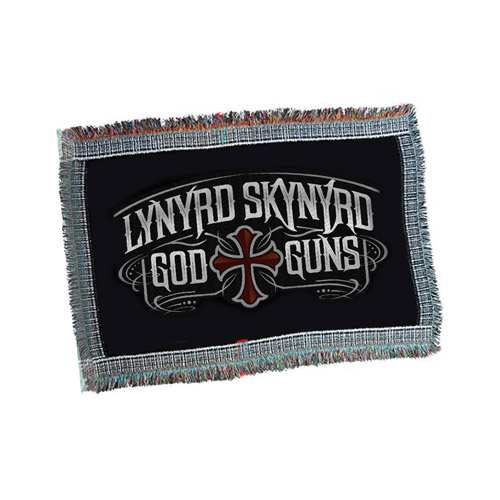 God &amp; Guns Throw Blanket