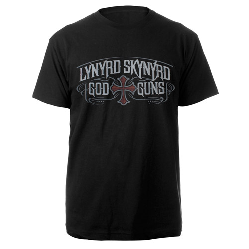 Lynyrd Skynyrd God &amp; Guns Tee