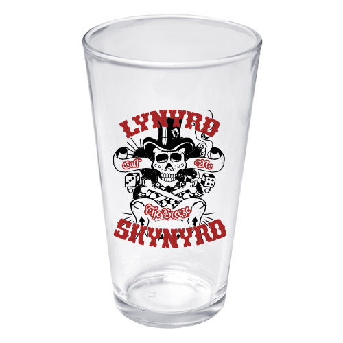 Lynyrd Skynyd God & Guns Pint Glass