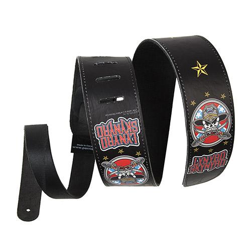 Lynyrd Skynyrd Leather Guitar Strap