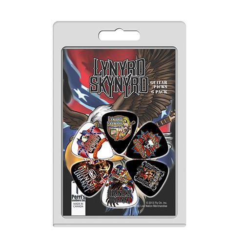 Lynyrd Skynyrd Guitar Pick 6 Pack