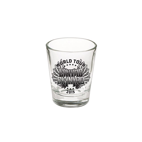 2015 World Tour Shotglass