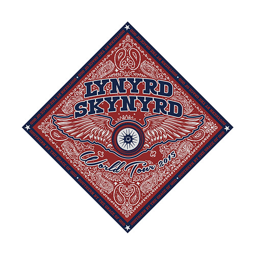 2015 World Tour Bandana