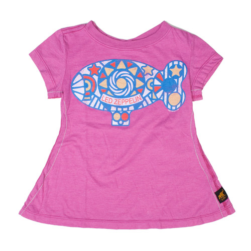 Psychedelic Blimp Pink Trunk Kids' Shirt