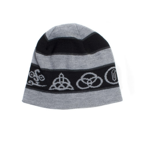 Four Symbols Beanie Hat