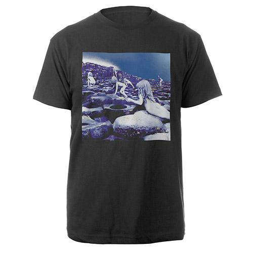 Led Zeppelin Houses Of The Holy Companion Album Black T-Shirt