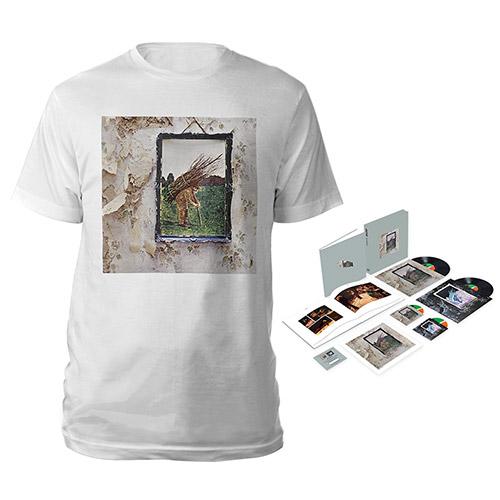 Led Zeppelin IV Super Deluxe Edition Box Set + Album White T-Shirt