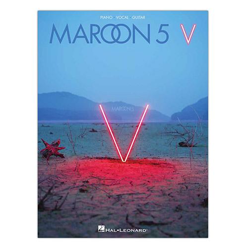 Pre-Order 'V' Sheet Music (Piano/Vocal/Guitar)