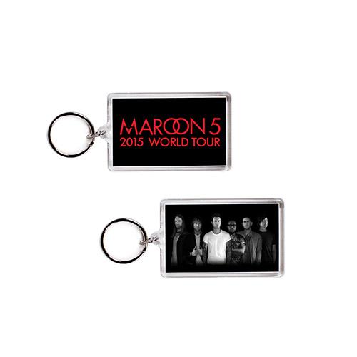 Maroon V Tour Keychain