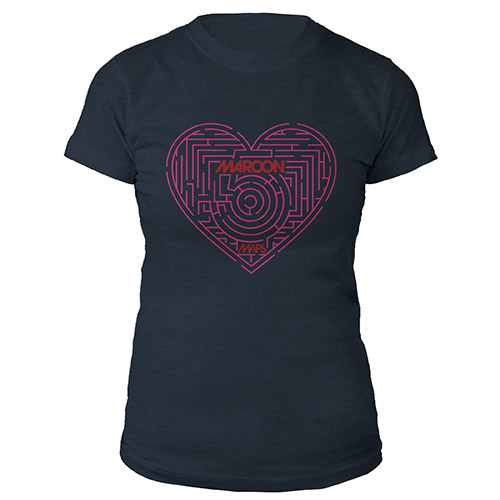Maroon 5 Maps Women's Tee*