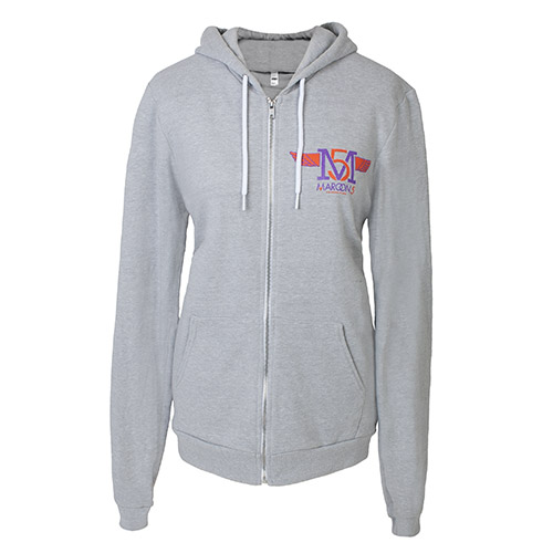 Maroon 5 Logo Full Zip Hooded Women's Sweatshirt