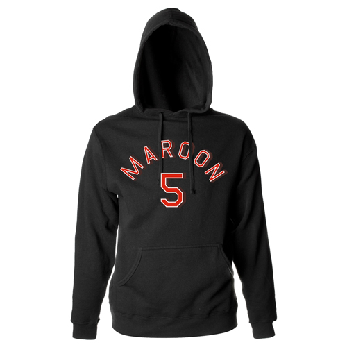 Maroon 5 Logo Pull-Over Hooded Sweatshirt*