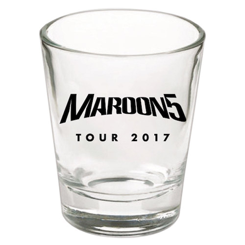 Maroon 5 2017 Tour Shot Glass