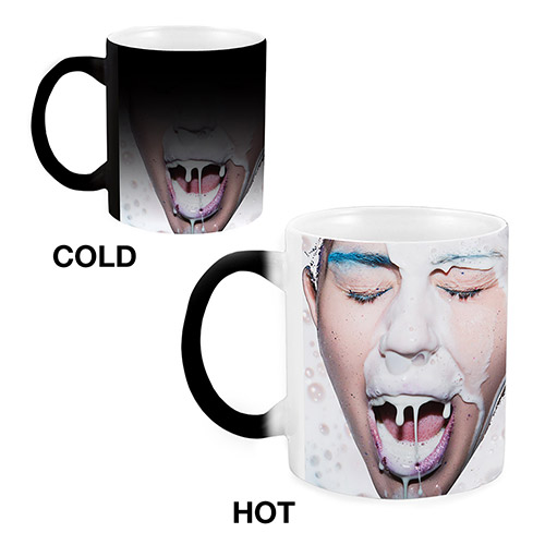 Heat Reveal Milk Splash Mug