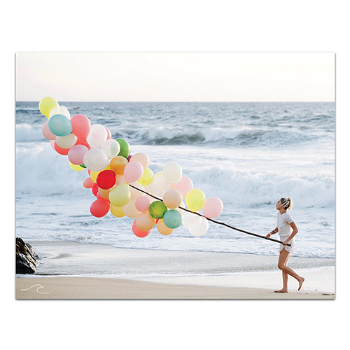 Limited Edition Malibu Balloons Poster