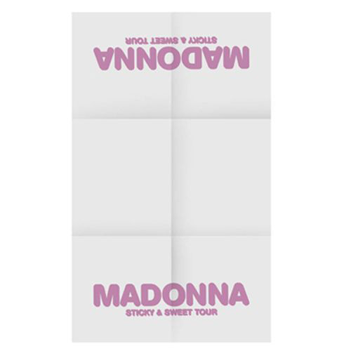 Madonna White Tea Towel