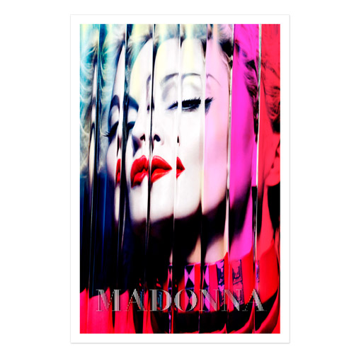 Official MDNA Album Cover Lithograph. (MDN53876)