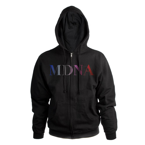 Madonna MDNA Zip Hoodie
