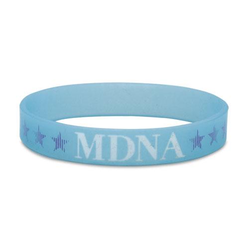 MDNA Silicon Glow Bracelet