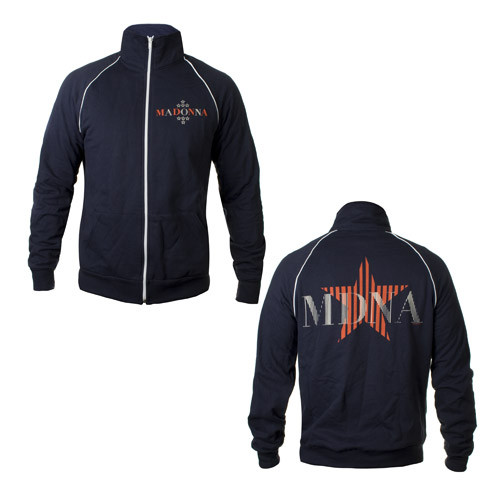 MDNA Fleece Track Jacket