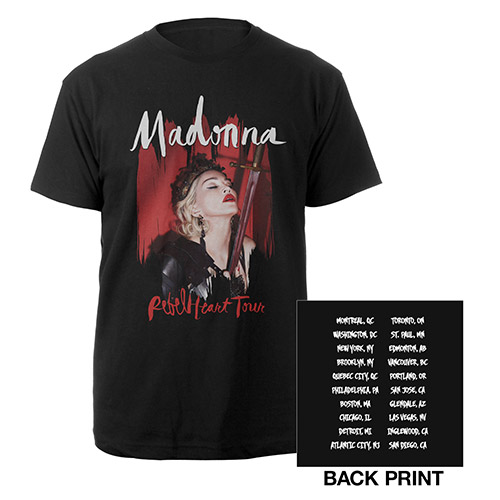 Madonna Rebel Heart US Tour Tee