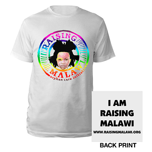 RAISING MALAWI RAINBOW T-SHIRT