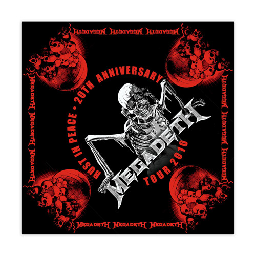 Rust In Peace 20th Anniversary Bandana