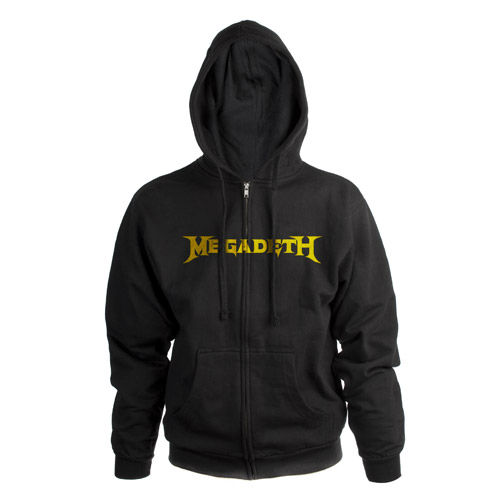 Megadeth Logo Zip-Up Hoodie