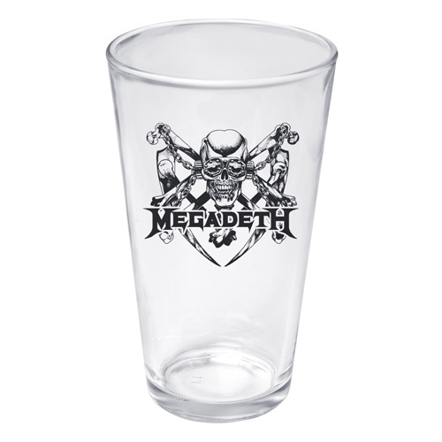 Exclusive - Megadeth Pint Glass