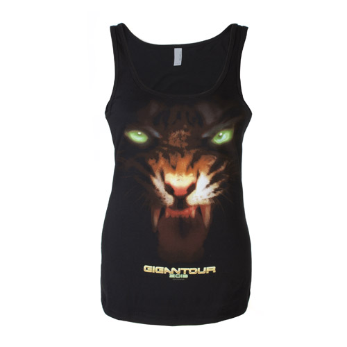 2013 Megadeth Gigantour Ladies Tank Top