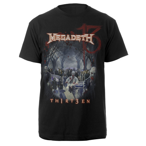Megadeth Zmobies Tee